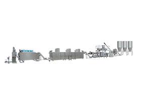 Линия для производства сухого корма для рыб