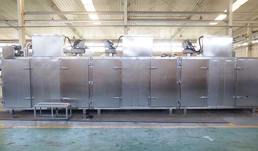 Сегментированная конструкция может быть выбрана в зависимости от удельного влажности и температуры оборудования