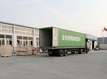 2016.1.11 LT65L обычная пуховая линия по производству пищевых продуктов отправлена в Грузию Аккуратно отправляем в Грузию генеральную линию доставки продуктов питания г-на Чандлера LT65L.