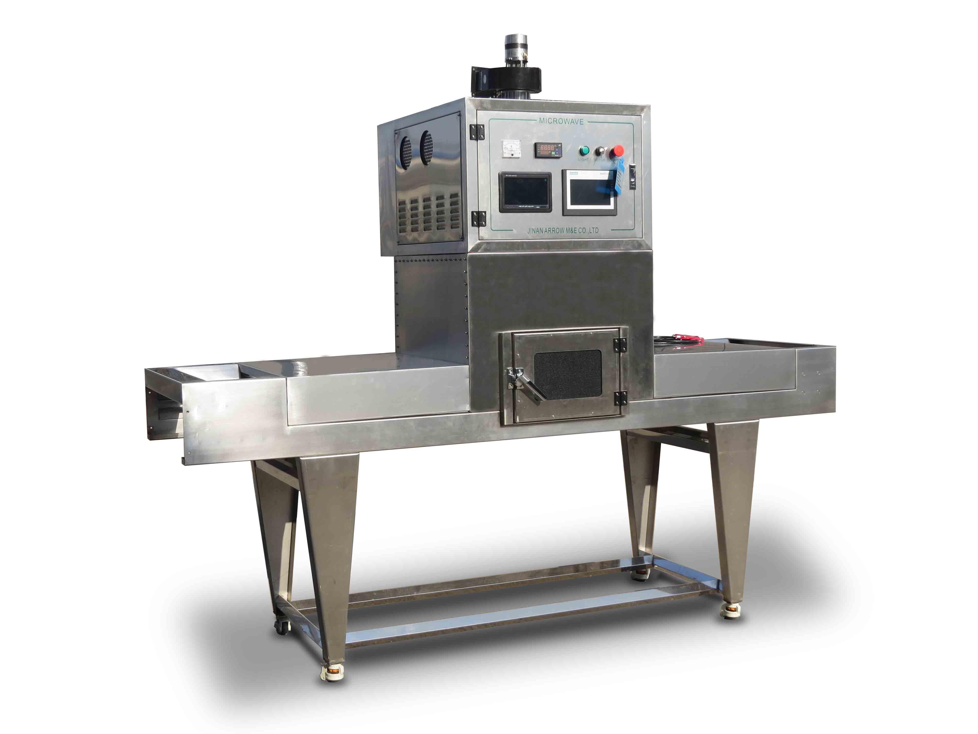Использование механического микроволнового оборудования Zhennuo